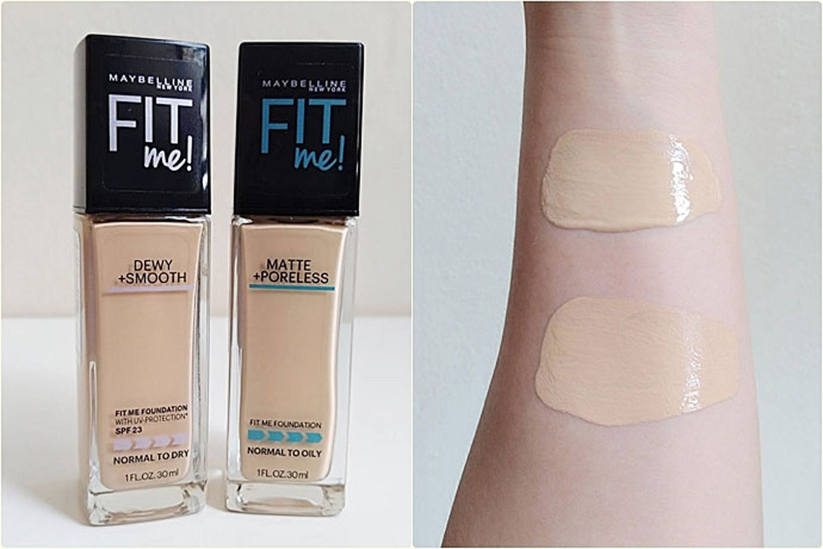 Maybelline Fit Me Matt and Porless Foundation