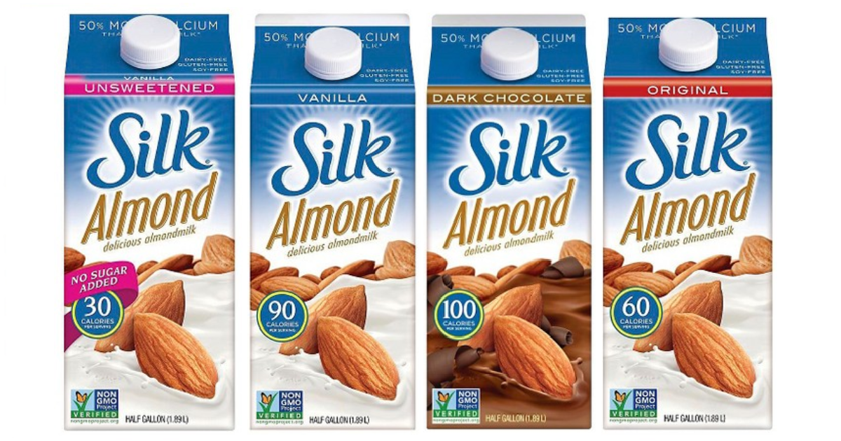 ซิลค์ น้ำนมอัลมอนด์ รสดั้งเดิม ชนิดไม่เติมน้ำตาล