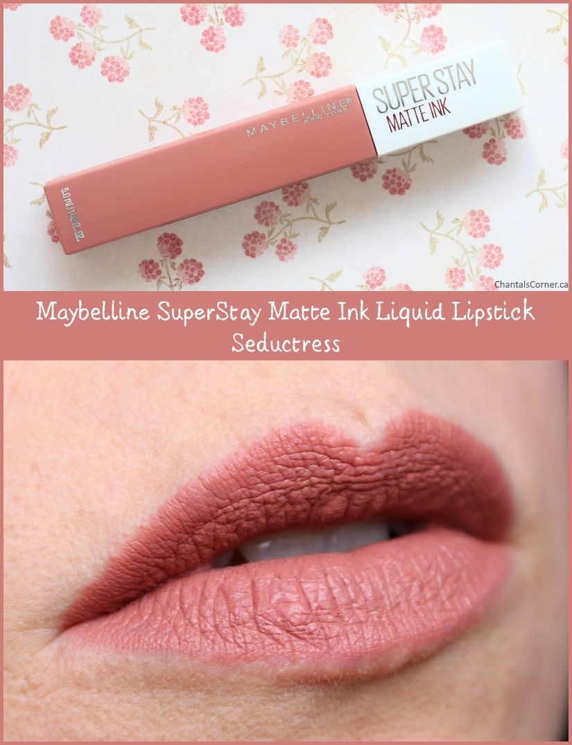 MAYBELLINE NEW YORK SUPER STAY MATTE INK UN-NUDE LIQUID LIPSTICK